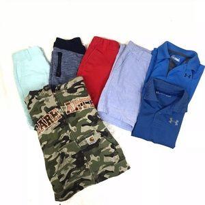 Lot of 7 boys clothes Janie jack gap under Armour